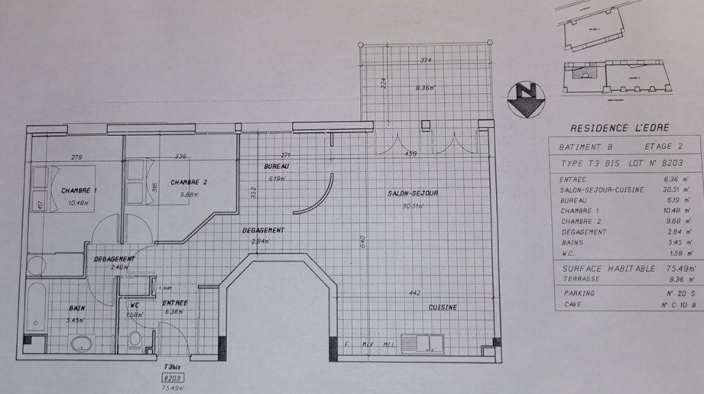Appartement à vendre 3 75.5m2 à Pau vignette-6