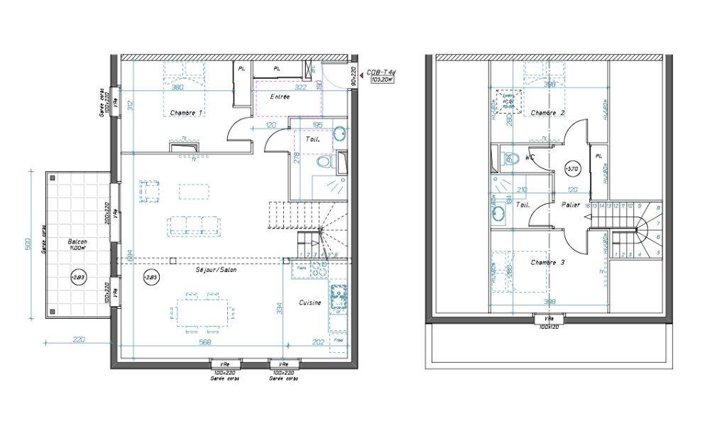 Appartement à vendre 4 105m2 à Idron vignette-2