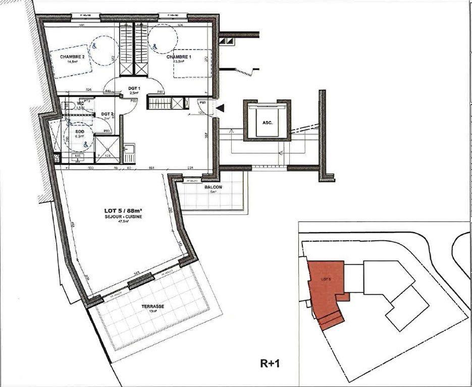 Appartement à vendre 3 88m2 à Gif-sur-Yvette vignette-2