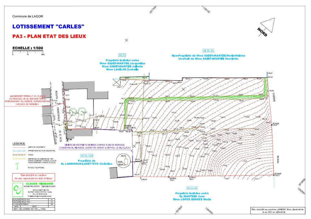Terrain à vendre 0 1634m2 à Lagor vignette-11