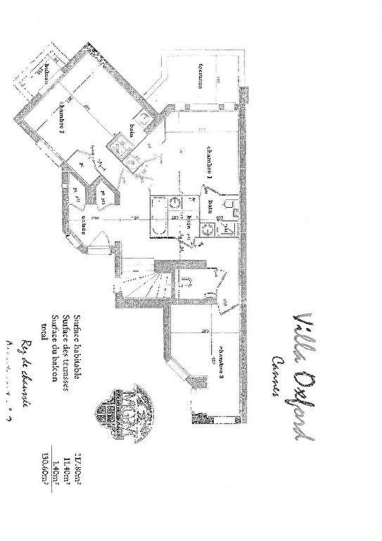 Appartement à vendre 4 109.88m2 à Cannes plan-2