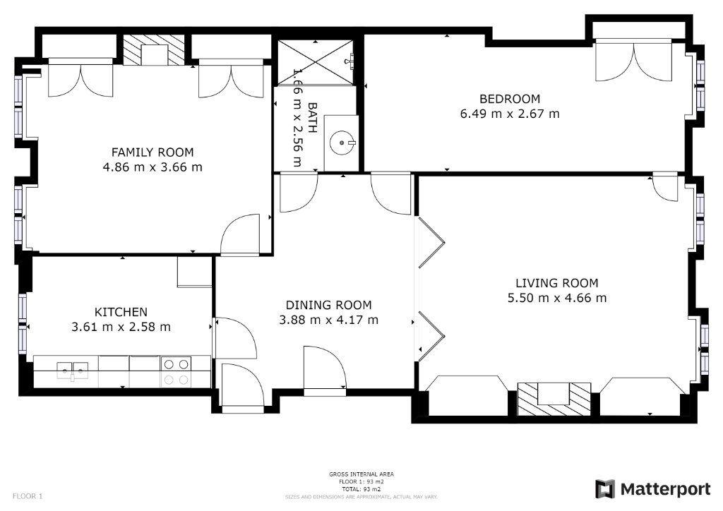 Appartement à vendre 3 87.04m2 à Lyon 1 plan-1