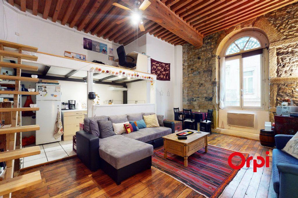 Appartement à vendre 2 48.84m2 à Lyon 1 vignette-1