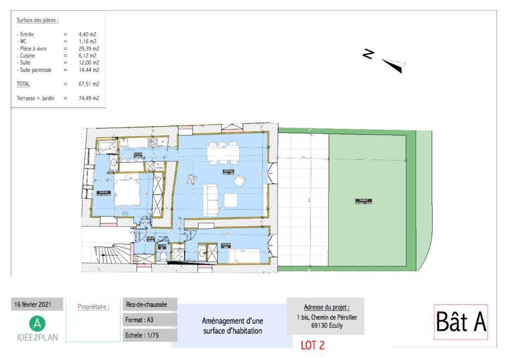 Appartement à vendre 3 67.51m2 à Écully vignette-3
