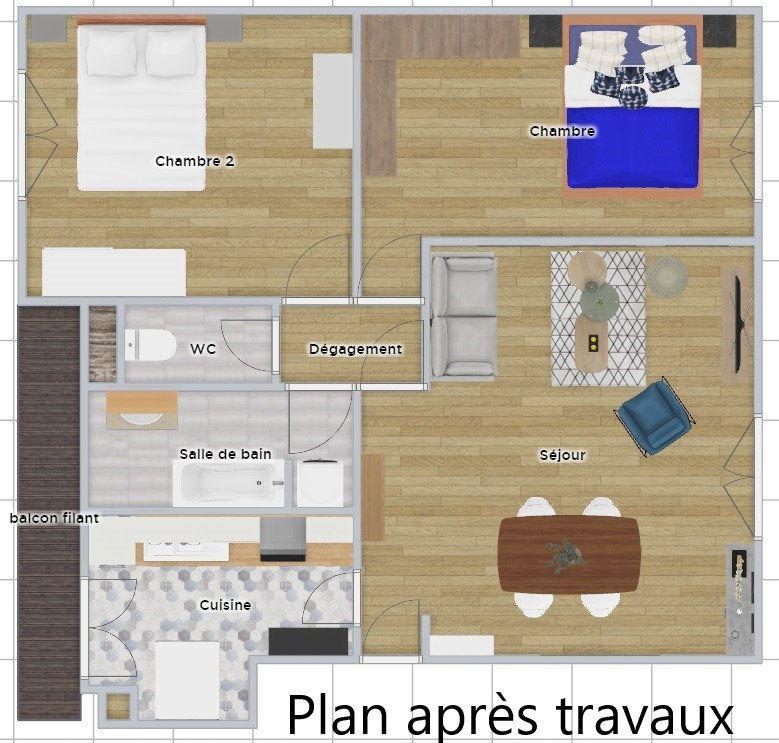 Appartement à vendre 3 72m2 à Courbevoie vignette-8