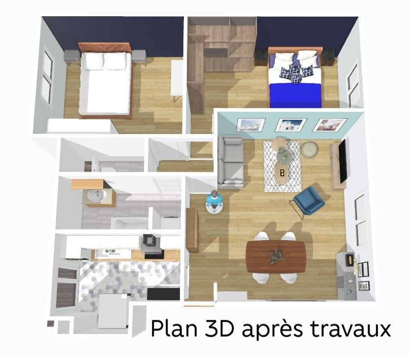 Appartement à vendre 3 72m2 à Courbevoie vignette-9