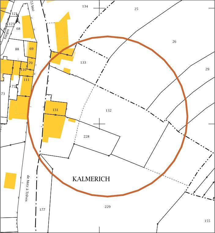 Terrain à vendre 0 3775m2 à Apach vignette-1