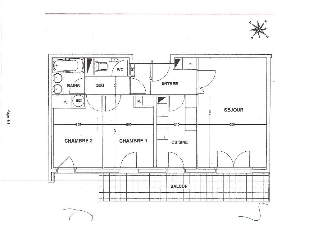 Appartement à louer 3 60m2 à Paris 12 vignette-2