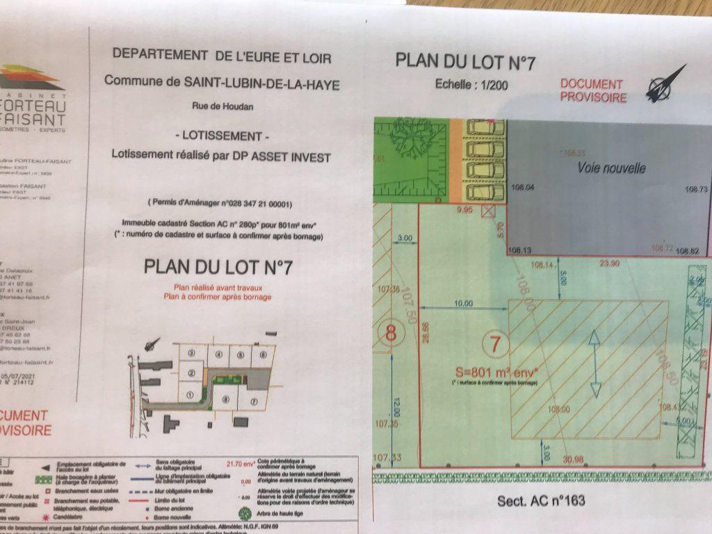 Terrain à vendre 0 801m2 à Saint-Lubin-de-la-Haye vignette-2