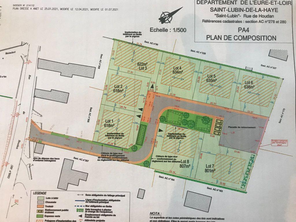 Terrain à vendre 0 618m2 à Saint-Lubin-de-la-Haye vignette-1