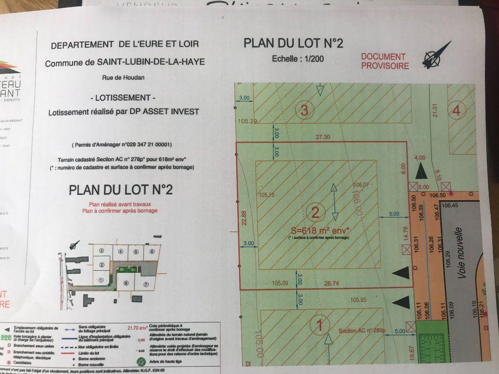 Terrain à vendre 0 618m2 à Saint-Lubin-de-la-Haye vignette-2
