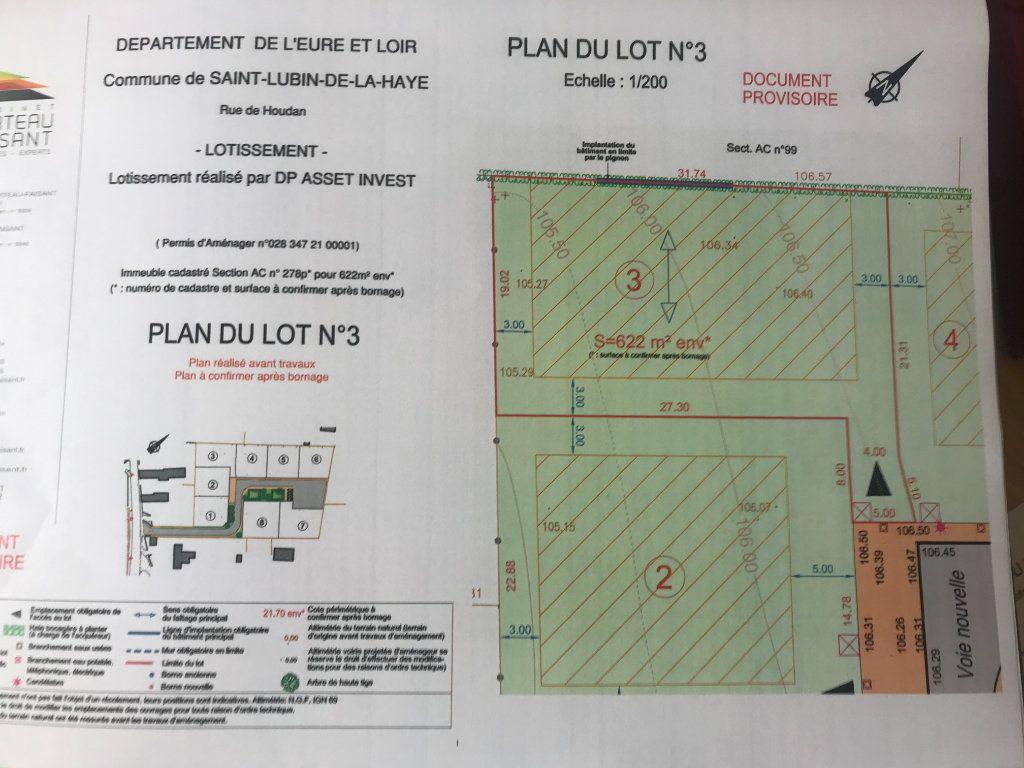 Terrain à vendre 0 622m2 à Saint-Lubin-de-la-Haye vignette-2