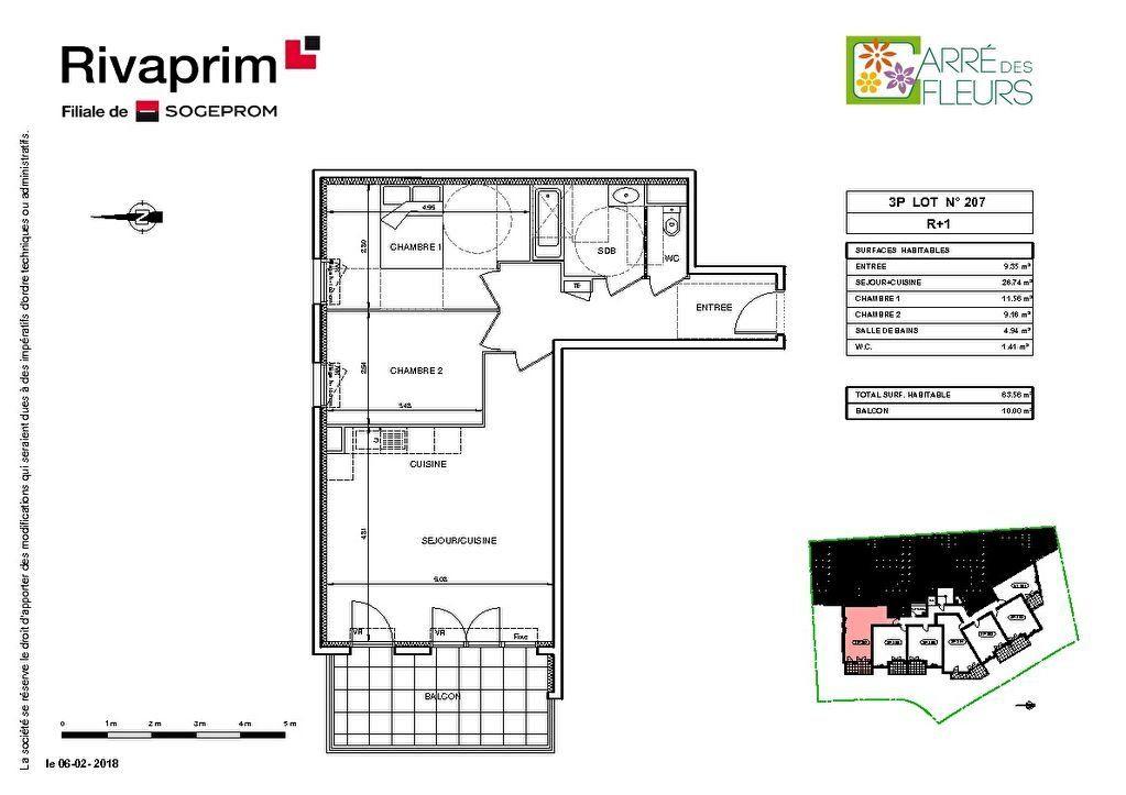 Appartement à vendre 3 64m2 à Nice vignette-2
