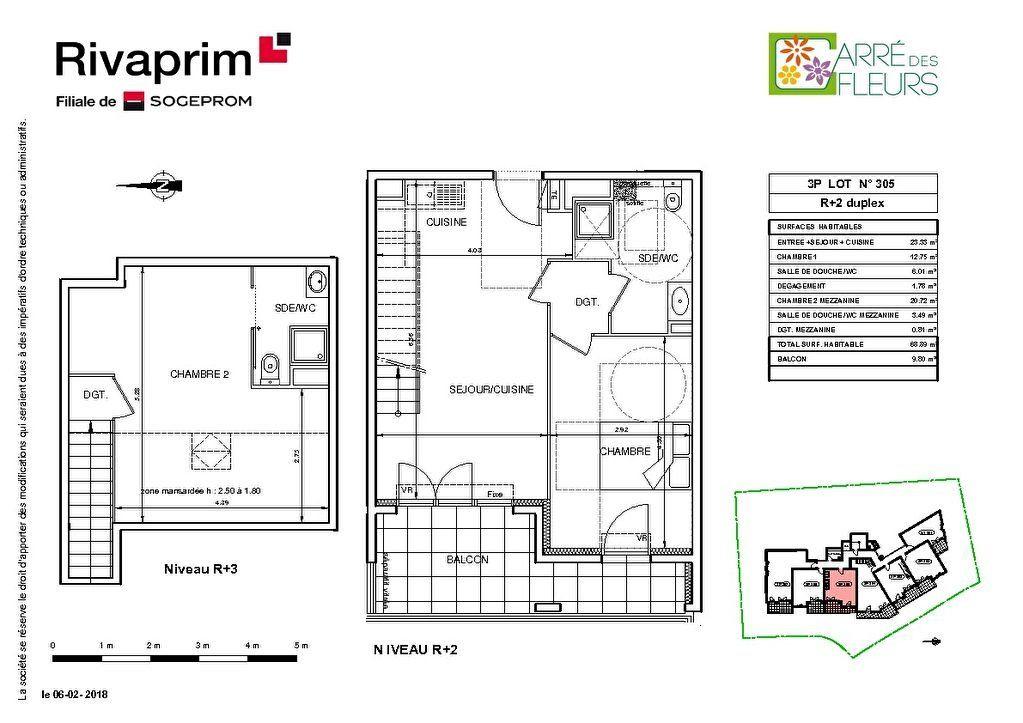 Appartement à vendre 3 68.89m2 à Nice vignette-2