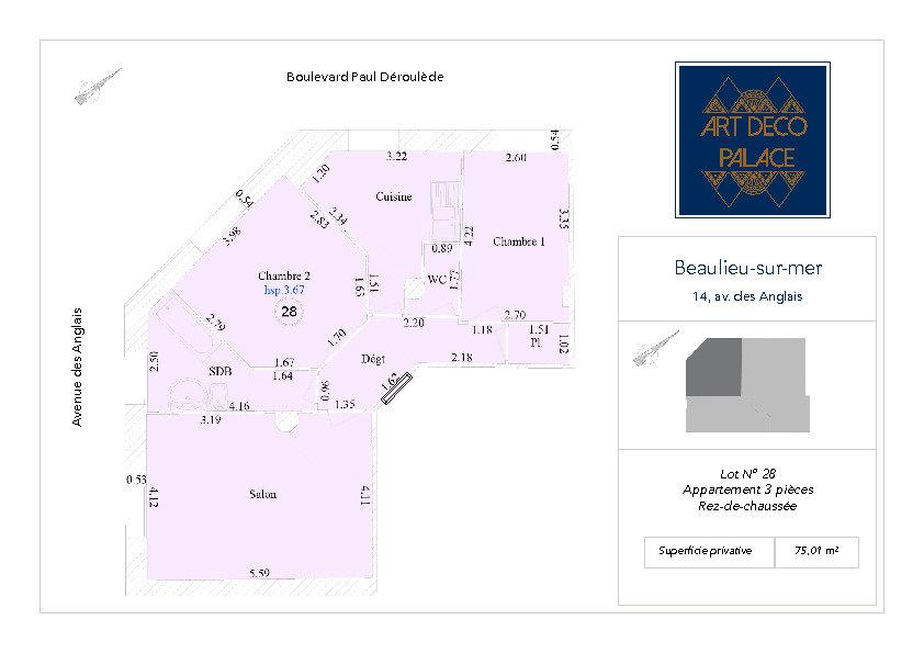 Appartement à vendre 3 75m2 à Beaulieu-sur-Mer vignette-2