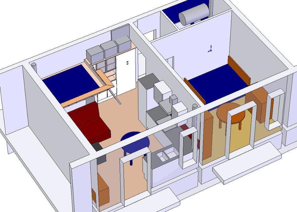 Appartement à vendre 2 34.22m2 à Nice vignette-5