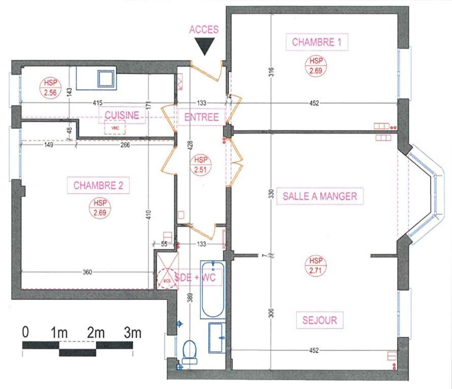Appartement à louer 3 80m2 à Paris 15 vignette-13