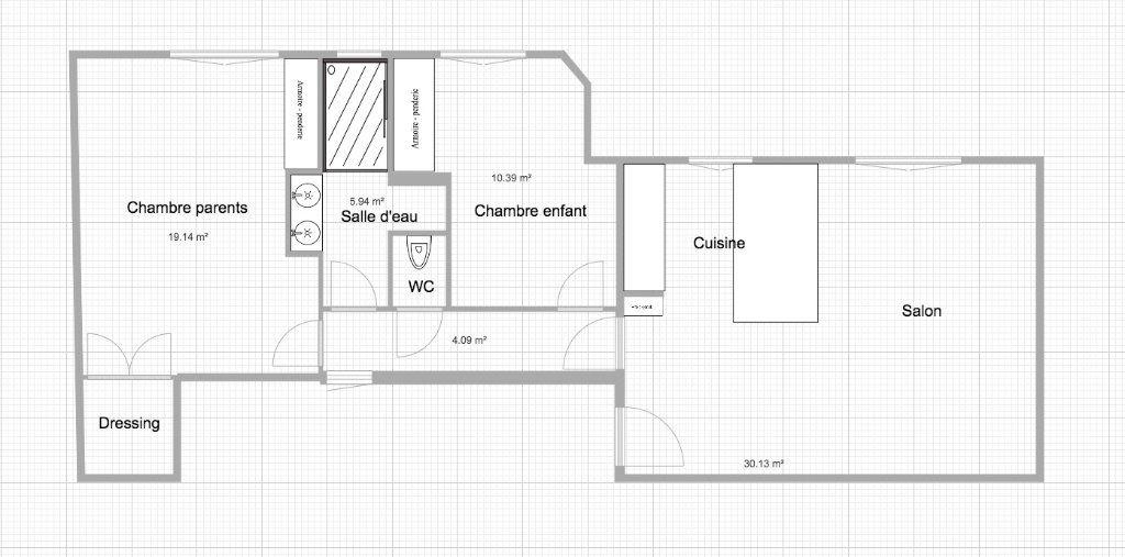 Appartement à vendre 3 70m2 à Paris 15 vignette-18