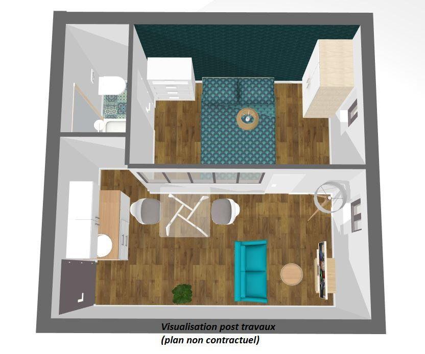 Appartement à vendre 2 21.85m2 à Paris 14 vignette-1