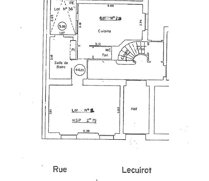 Appartement à vendre 2 49.6m2 à Paris 14 vignette-6
