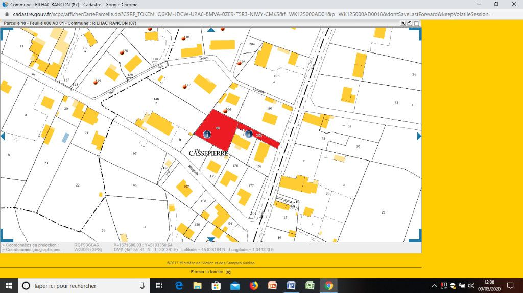 Terrain à vendre 0 918m2 à Rilhac-Rancon vignette-4