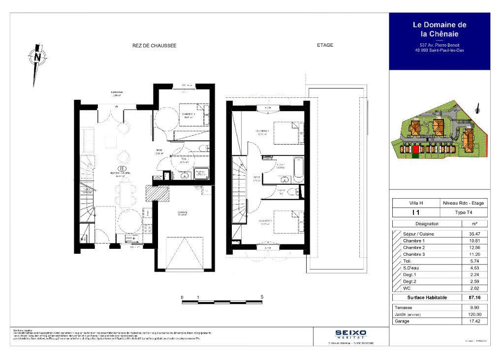Maison à vendre 4 87.16m2 à Saint-Paul-lès-Dax vignette-2