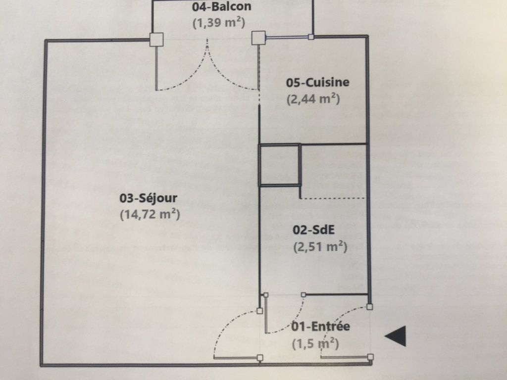 Appartement à louer 1 21.17m2 à Antony vignette-6