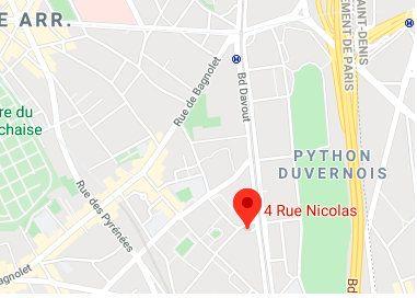 Stationnement à louer 0 12.35m2 à Paris 20 vignette-2