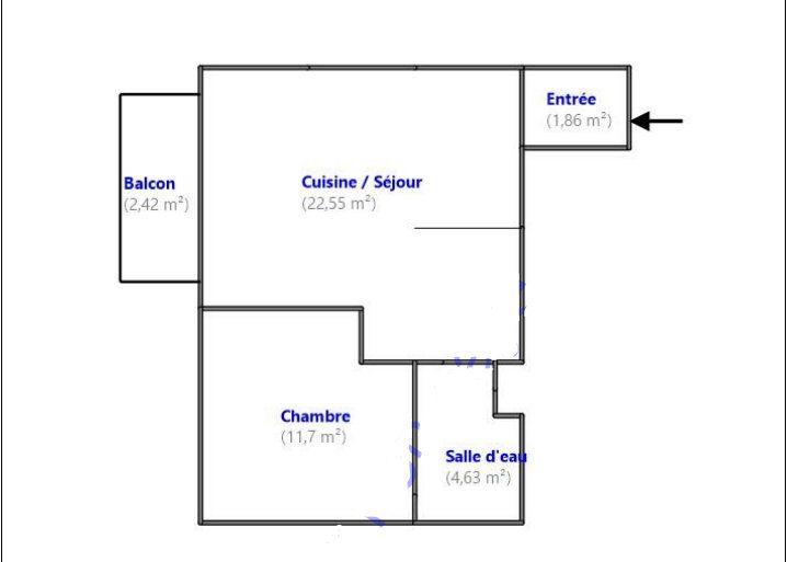 Appartement à vendre 2 40.74m2 à Aubervilliers vignette-2