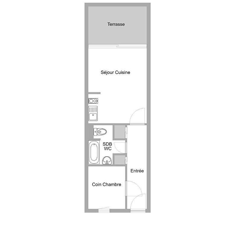 Appartement à vendre 2 27m2 à Cannes vignette-6