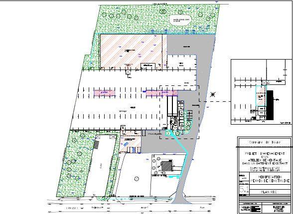 Local d'activité à vendre 0 6300m2 à Baule plan-1