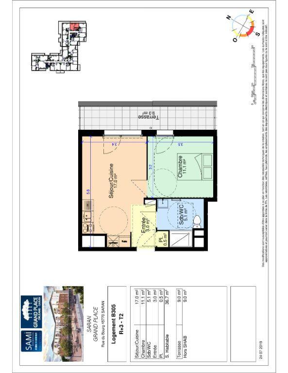 Appartement à vendre 36.7m2 à Saran