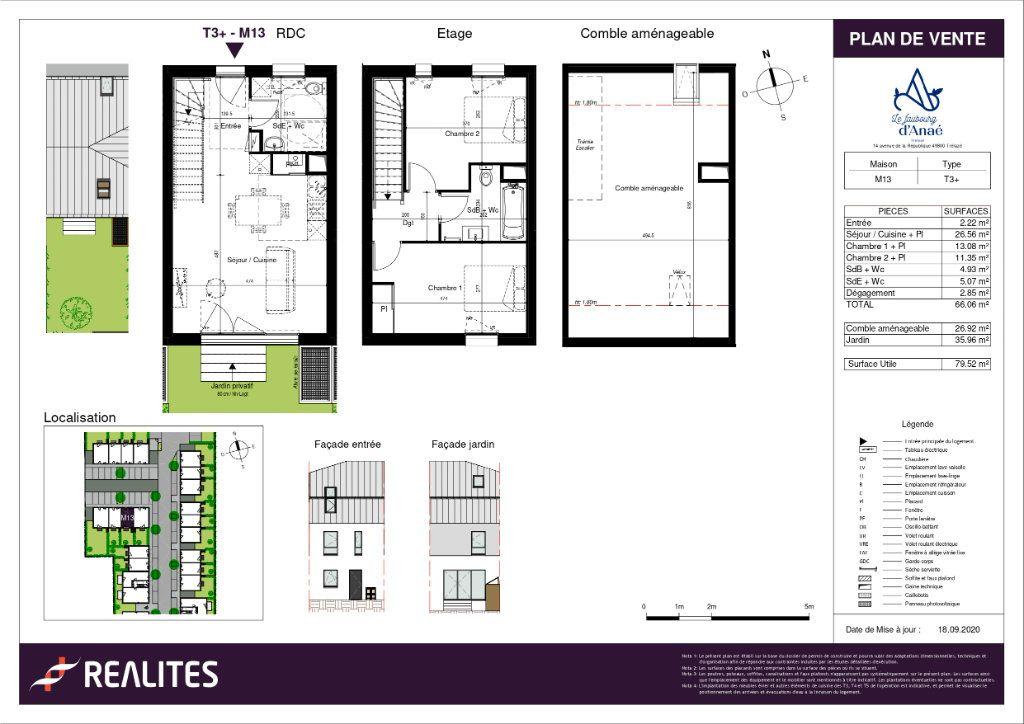 Maison à vendre 66.06m2 à Trélazé