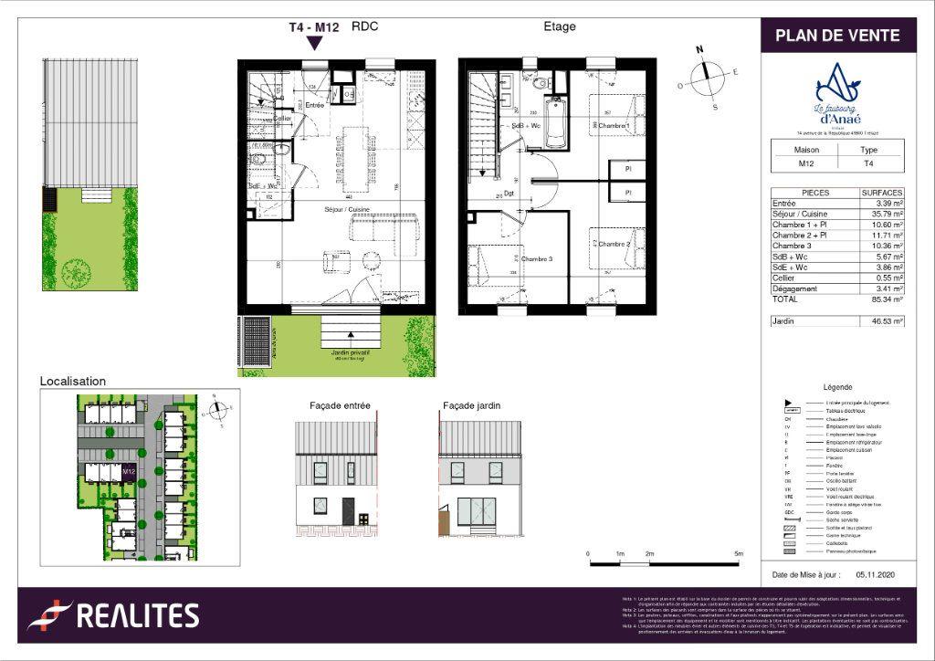 Maison à vendre 85.34m2 à Trélazé
