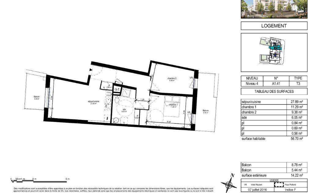 Appartement à louer 3 57.3m2 à Orléans vignette-13