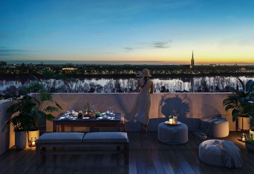 Appartement à vendre 3 75.69m2 à Bordeaux vignette-1