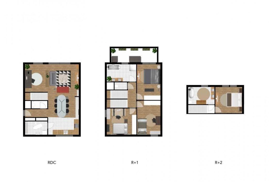 Maison à vendre 5 128m2 à Le Touquet-Paris-Plage vignette-2