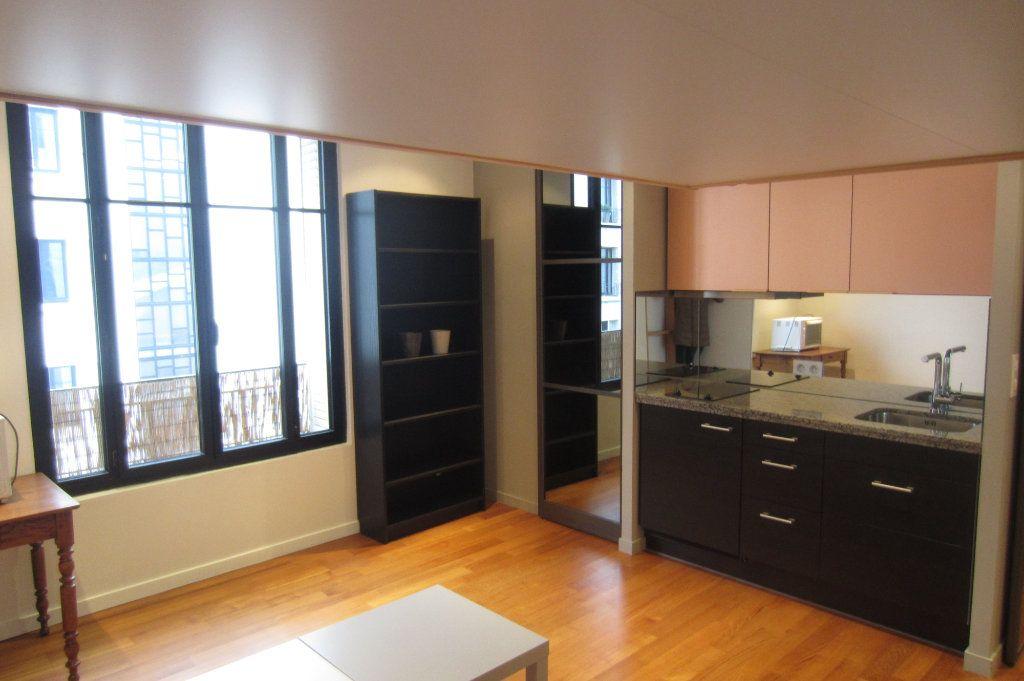 Appartement à louer 1 22.5m2 à Boulogne-Billancourt vignette-1