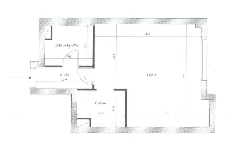 Appartement à louer 1 27.86m2 à Paris 10 vignette-12