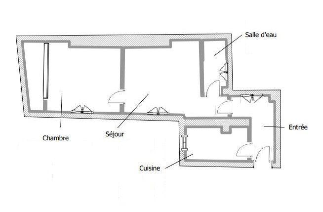 Appartement à louer 2 29.42m2 à Paris 20 vignette-6