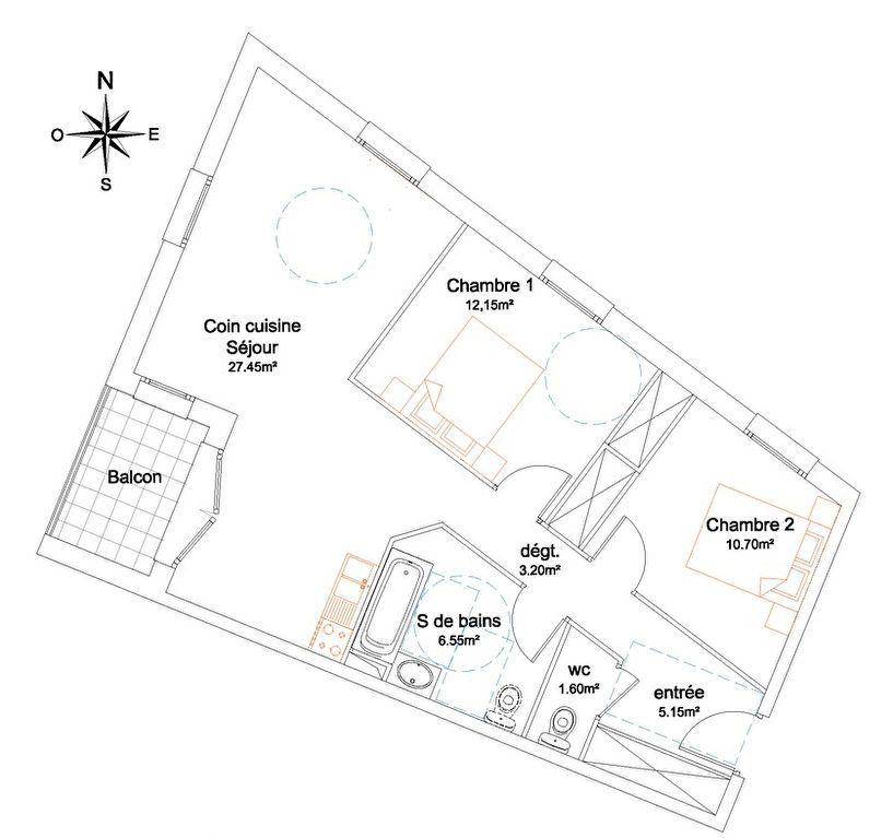 Appartement à vendre 3 66.8m2 à Trévoux vignette-5