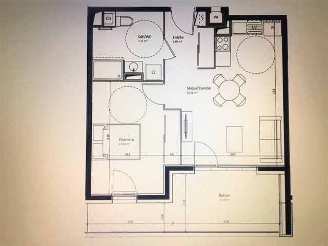Appartement à vendre 2 45.42m2 à Fillinges vignette-1
