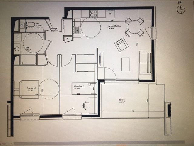 Appartement à vendre 3 65.24m2 à Fillinges vignette-1
