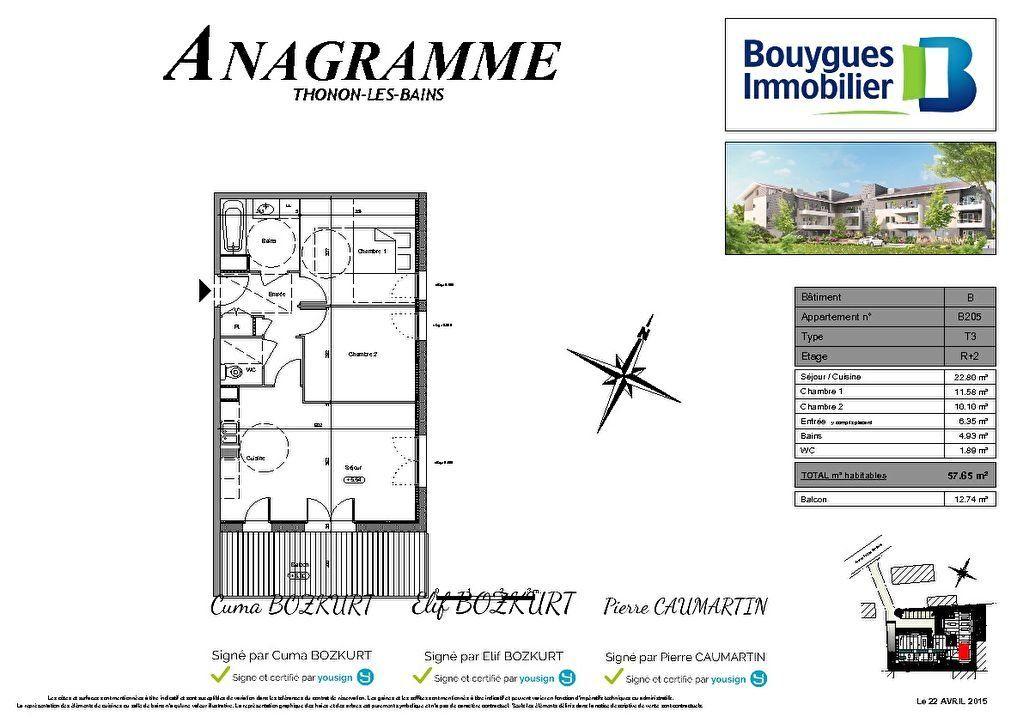 Appartement à louer 3 57.65m2 à Thonon-les-Bains vignette-8