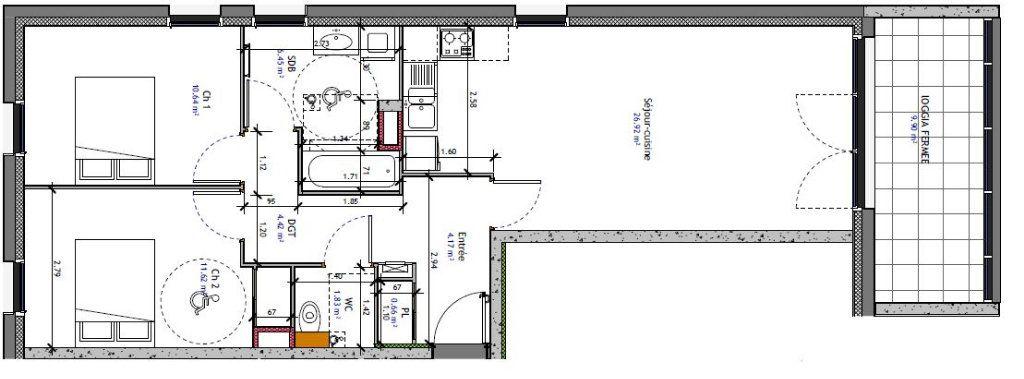 Appartement à vendre 3 66.7m2 à Metz vignette-2