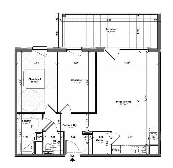 Appartement à vendre 3 67.51m2 à Metz vignette-2