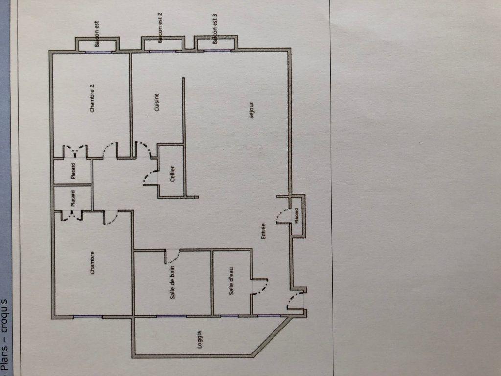 Appartement à vendre 3 85.08m2 à Juan-les-Pins - Antibes vignette-9