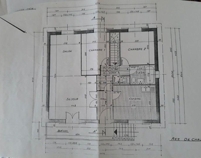 Maison à vendre 6 107.34m2 à Cuvry plan-1