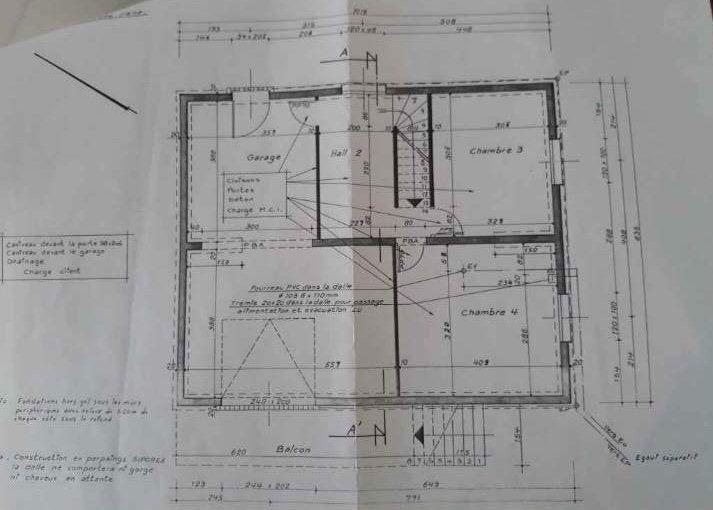 Maison à vendre 6 107.34m2 à Cuvry plan-2