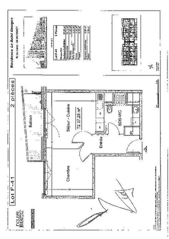 Appartement à louer 2 38.3m2 à Nancy vignette-8